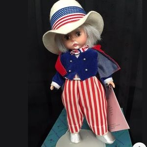 "Madame Alexander Doll 8"" UNCLE SAM #10353 Box"